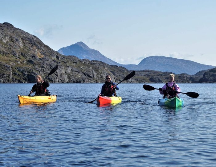 kayaking-arctic-char-fishing-nuuk-west-greenland - Guide to Greenland1