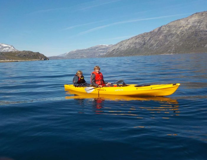 kayaking-arctic-char-fishing-nuuk-west-greenland - Guide to Greenland3