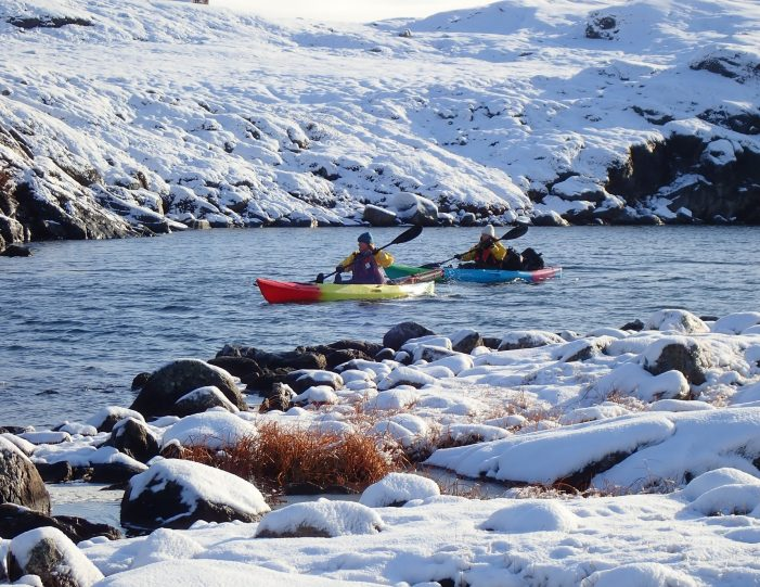 kayaking-arctic-char-fishing-nuuk-west-greenland - Guide to Greenland7