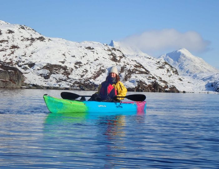 kayaking-arctic-char-fishing-nuuk-west-greenland - Guide to Greenland8