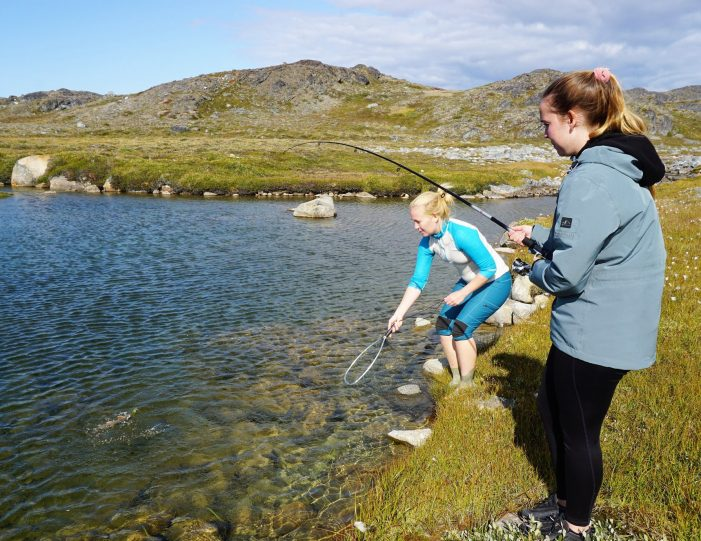 kayaking-arctic-char-fishing-nuuk-west-greenland - Guide to Greenland9