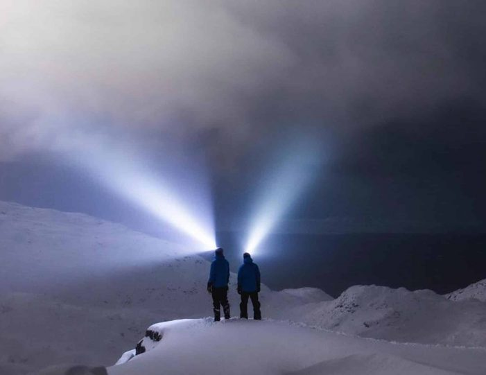northern-lights-from-a-mountain-top-snowshoe-tour-in-nuuk - Guide to Greenland8