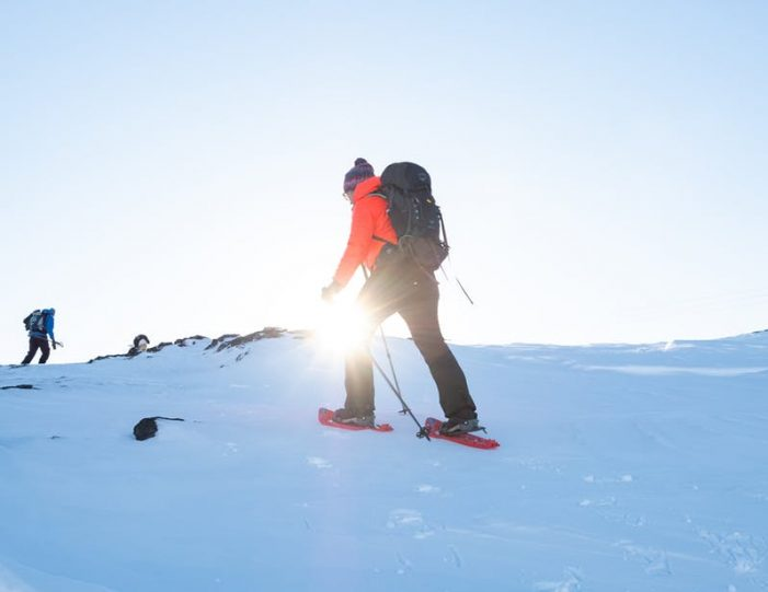 snowshoe-hiking-ilulissat-disko-bay - Guide to Greenland2
