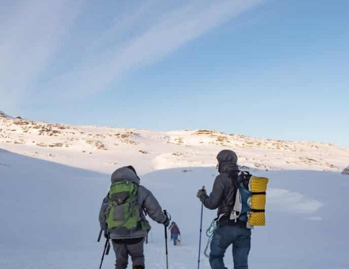 snowshoe-to-the-top-of-lille-malene-nuuk - Guide to Greenland1