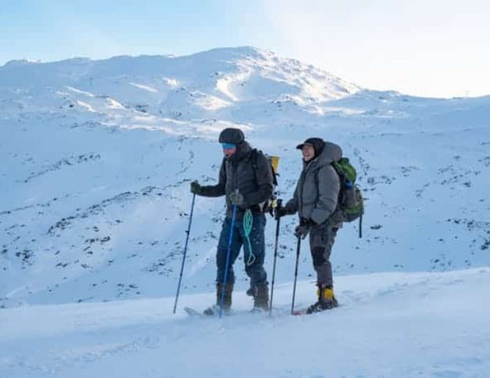 snowshoe-to-the-top-of-lille-malene-nuuk - Guide to Greenland2