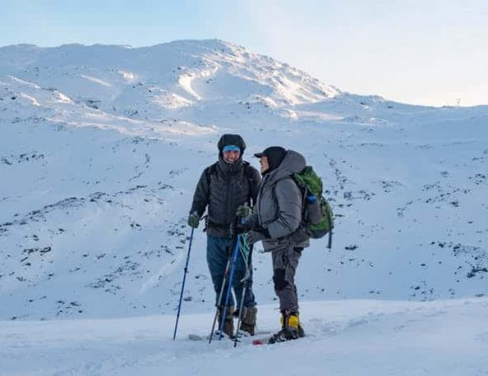 snowshoe-to-the-top-of-lille-malene-nuuk - Guide to Greenland3