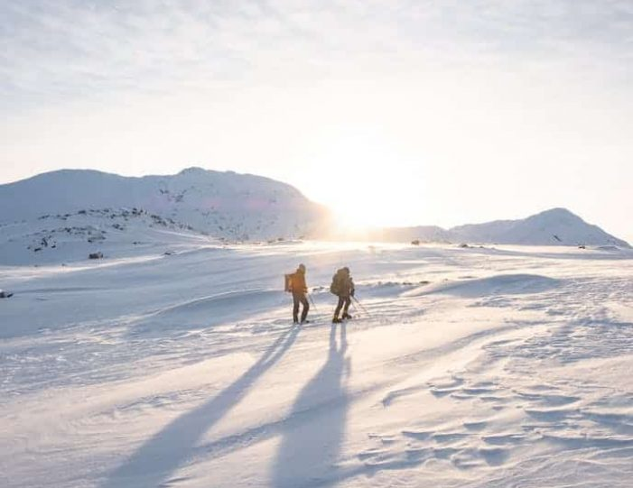 snowshoe-to-the-top-of-lille-malene-nuuk - Guide to Greenland4