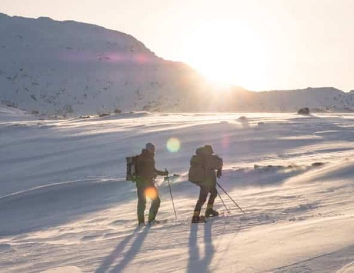 snowshoe-to-the-top-of-lille-malene-nuuk - Guide to Greenland5