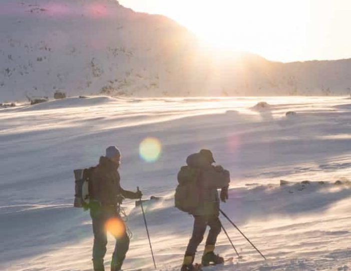 snowshoe-to-the-top-of-lille-malene-nuuk - Guide to Greenland7