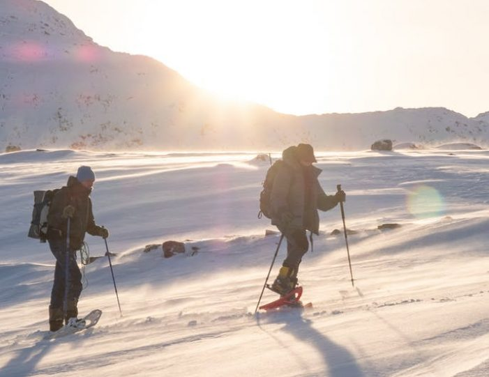snowshoe-to-the-top-of-lille-malene-nuuk - Guide to Greenland8