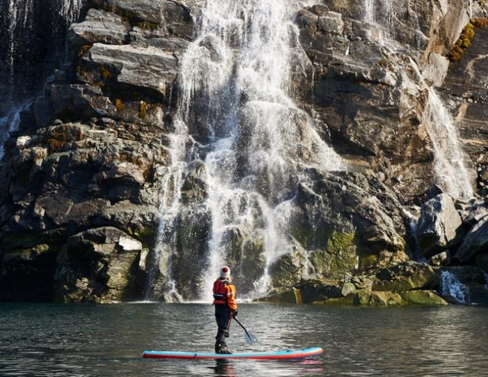 stand-up-paddleboarding-amongst-the-icebergs-nuuk-west-greenland - Guide to Greenland12