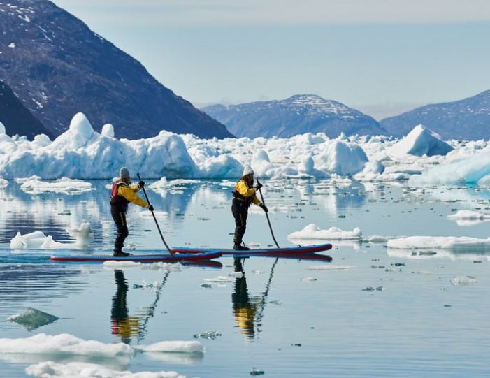 stand-up-paddleboarding-amongst-the-icebergs-nuuk-west-greenland - Guide to Greenland16