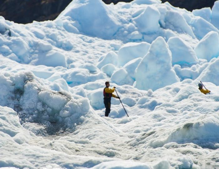 stand-up-paddleboarding-amongst-the-icebergs-nuuk-west-greenland - Guide to Greenland2