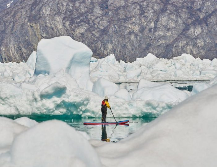 stand-up-paddleboarding-amongst-the-icebergs-nuuk-west-greenland - Guide to Greenland4