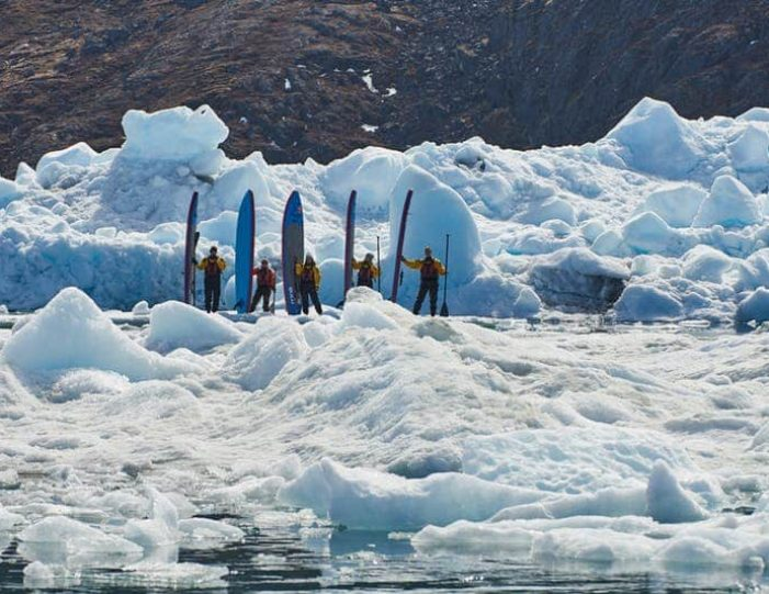 stand-up-paddleboarding-amongst-the-icebergs-nuuk-west-greenland - Guide to Greenland5
