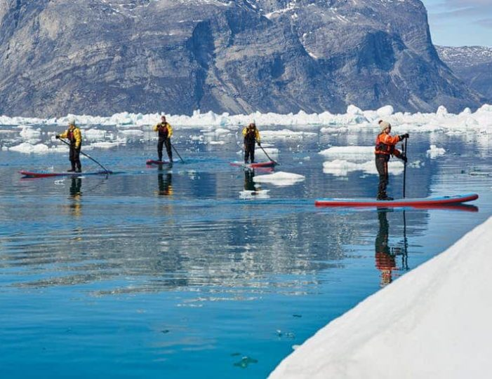 stand-up-paddleboarding-amongst-the-icebergs-nuuk-west-greenland - Guide to Greenland6