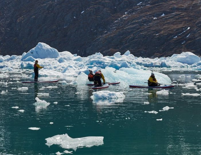 stand-up-paddleboarding-amongst-the-icebergs-nuuk-west-greenland - Guide to Greenland7