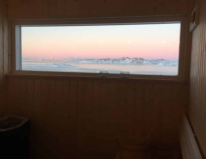 the-arctic-sauna-experience-ilulissat-disko-bay-Guide to Greenland4