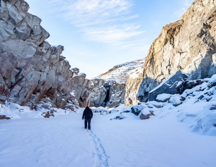 waterfall-hike-kangerlussuaq-west-greenland - Guide to Greenland1
