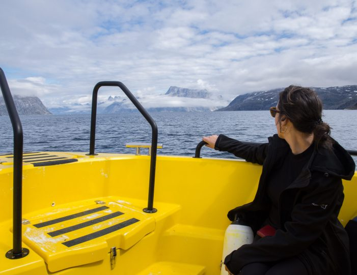 women-enjoying-boat-tour-fjord-cruise-nuuk-guide-to-greenland.